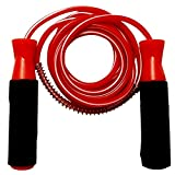 Gyronax -Skipping-Rope(red-Colour) Jump Skipping Rope for Men, Women, Weight Loss, Kids, Girls, Children, Adult - Best in Fitness, Sports, Exercise, Workout