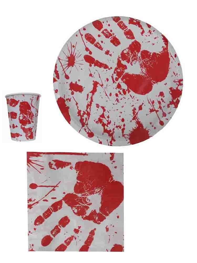 Bloody Hands Halloween Party Supplies [08003, 08103, 08203]