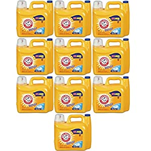 Arm & Hammer Laundry Detergent He, Clean Burst, 210 Ounce (10)