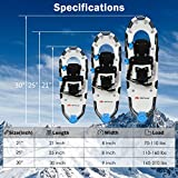"Goplus 21""/25""/30"" Snowshoes for Men and"