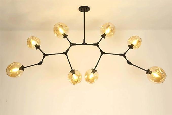 Led magic beans lampadario molecolare lampadario creativo acrilico