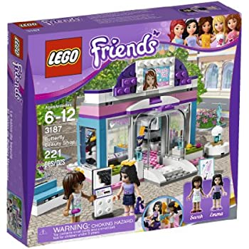 LEGO Friends Butterfly Beauty Shop 3187