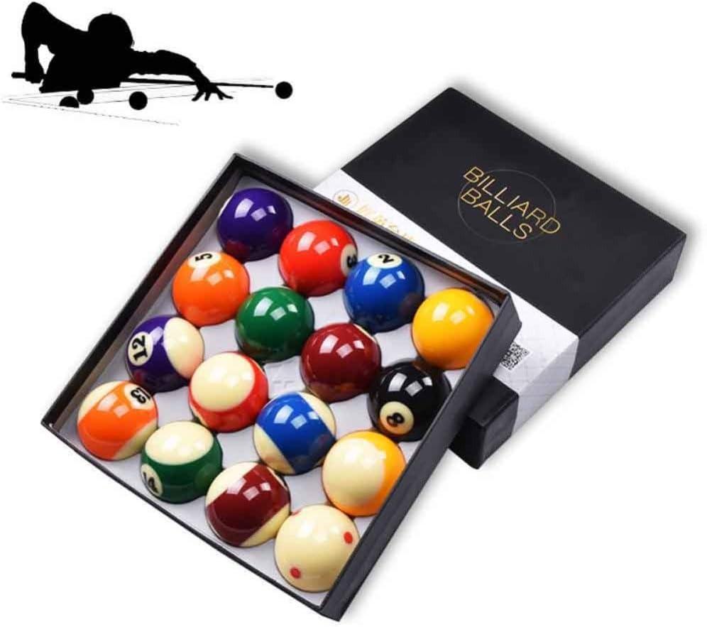 Snooker ball Billar Americano De 16 Colores Bola Grande 5.72cm: Amazon.es: Jardín