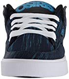 Osiris Men's Protocol Skate Shoe, Blue/Knit, 9.5 M US