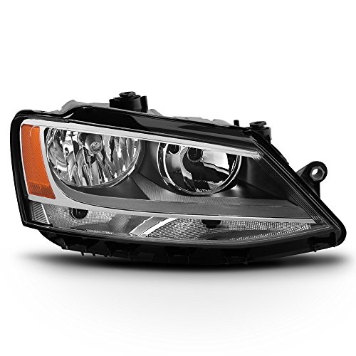 ACANII - For 2011-2018 Volkswagen Jetta [Halogen Model] Replacement Headlight Headlamp - Passenger Side Only