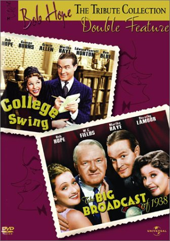 DVD : College Swing / The Big Broadcast of 1938 (DVD)