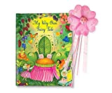 Personalized Custom Name Book with Wand for Kids Girls Spell My Name Fairy Fairies