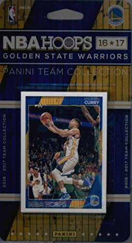 2016 17 Panini NBA Hoops Warriors product image