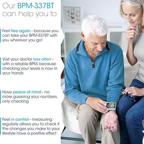 Blood Pressure Cuff Bluetooth - BP Full - Approved - Display - Machine