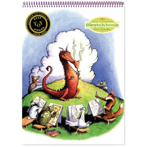eeBoo Dragon Sketchbook