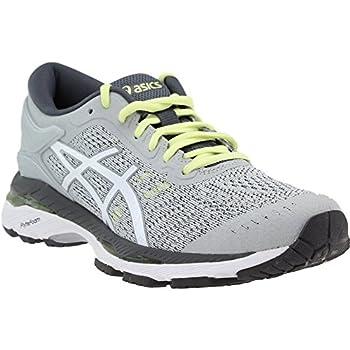 Asics Womens Gel-kayano 24 Glacier Greywhitecarbon Running Shoe - 10 0