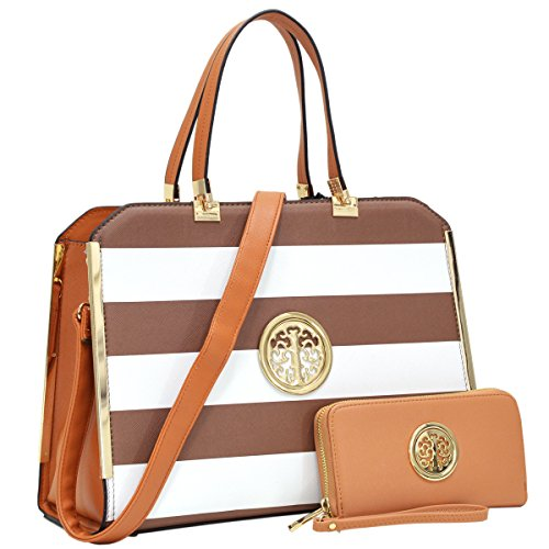 MMK Collection Designer Handbags for women,Beautiful Tote Style with Free Wallet