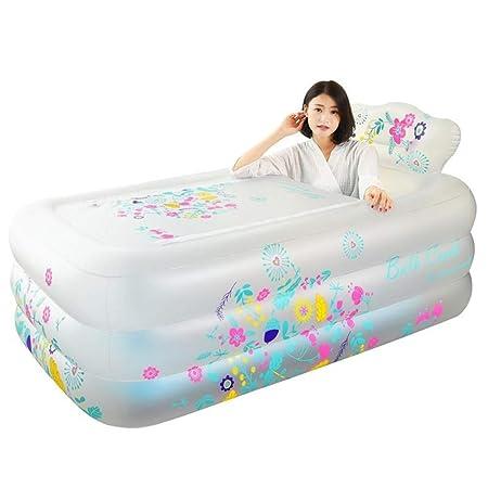 El Baño Hinchable La Tina Está Doblada para Bebés Cubo para ...