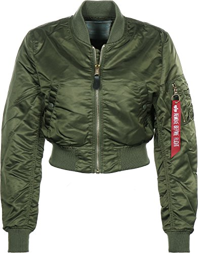 Cropped Dark Green Ma Veste 1 Industries Wmn Alpha Femme Pm zqP8RY