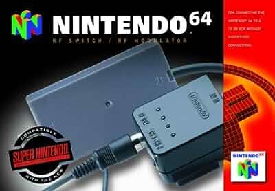 Amazon.com: Nintendo 64 RF Switch/Modulator: Video Games