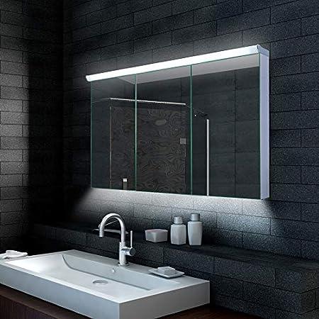 lux Spiegelschrank mit LED Beleuchtung