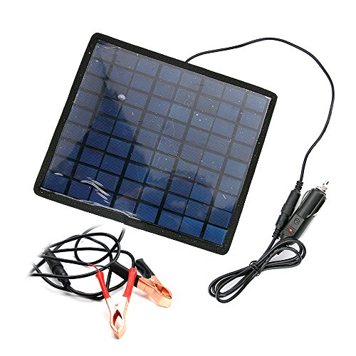 Car Solar Panel Battery Charger - 8
