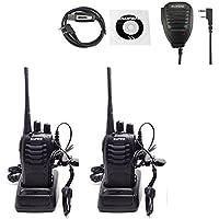 Baofeng 888S Two Way Radios Walkie Talkies Handheld Radios Long Range Security Radios(Pack of 2)