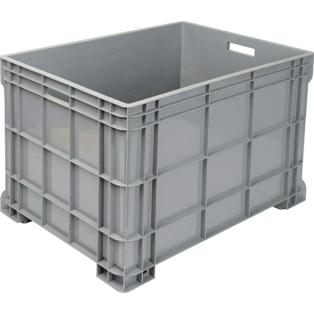 Caja de polipropileno (PP), med. 615 x 814 x 510 mm. Capacidad: 195 l. Capacidad: 200 kg. 4 patas.: Amazon.es: Industria, empresas y ciencia