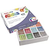 Pentel Arts Oil Pastels, 432 Piece Classroom Size Pack (PHN-12CP)