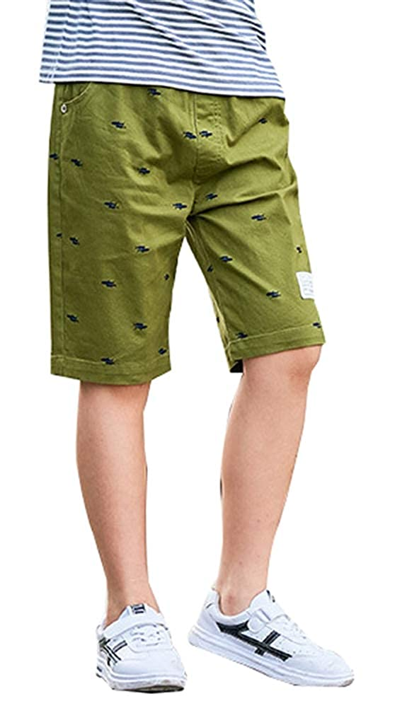ICEGREY Boy Pants Cotton Childrens Clothing Five Pants Thin Section