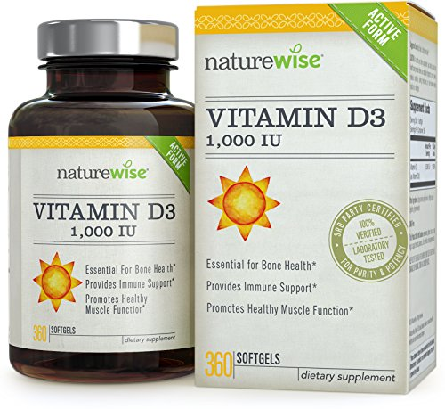 NatureWise Vitamin D3 1000IU Softgels