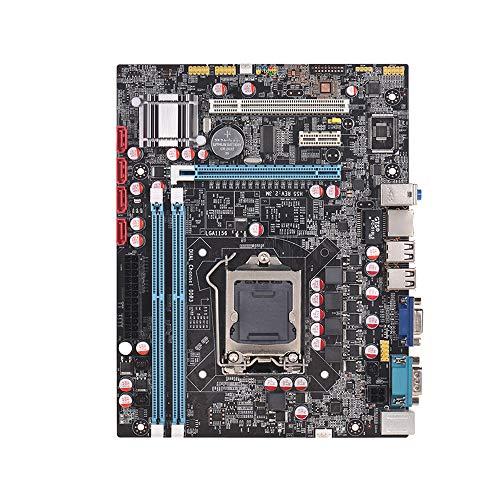 Festnight Motherboard H55 Motherboard LGA1156 DDR3 Supports I3 I5 I7 CPU Motherboard