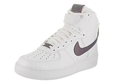 super popular f9de7 1217a Nike Mens Air Force 1 High 07 Lv8 White Multi Color White Basketball