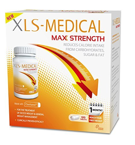 XLS Medical Max Strength Diet Pills for Weight Loss - Pack of 120 by XLS Medical by XLS Medical