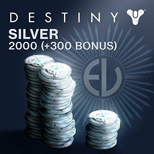 Destiny: 2000 (+300 Bonus) Destiny Silver - PS4 [Digital Code]