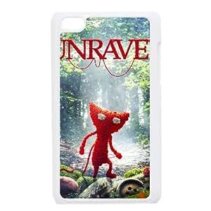 iPod Touch 4 Case White Yarny Custom DSANSAVDH3142