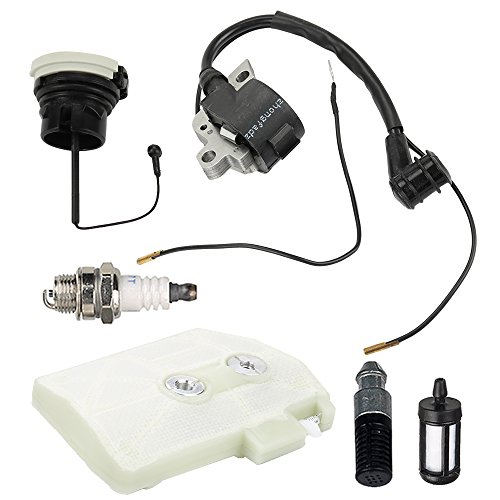 Harbot MS380 Air Filter Cleaner+Ignition Coil+Oil Cap+Fuel, used for sale  Delivered anywhere in USA