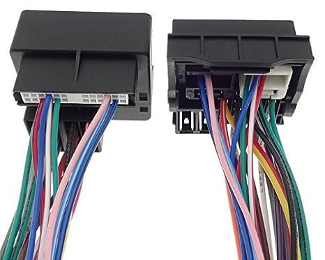 Cable adaptador THB PARROT RENAULT Laguna Twingo Megane Scenic ISO connettore Koleos: Amazon.es: Electrónica