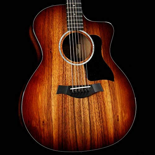 Taylor 200 Series Deluxe 224ce-K Grand Auditorium Acoustic-Electric Guitar Shaded Edge Burst ()