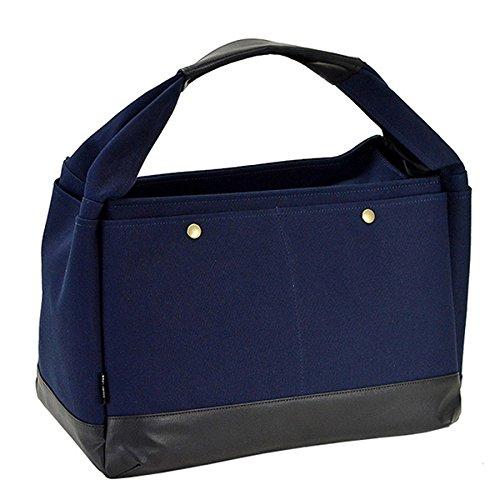 ブロンプトン BROMPTON ラバキャン タウンシリーズ 日本製 豊岡製鞄 トートバッグ 53408-3H ネイビー [並行輸入品]   B07H96F4LY