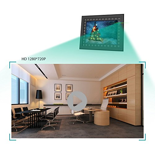 Hidden Spy Camera Photo Frame,Portocam Picture Frame Nanny Cam with Night Vision PIR Motion Activated Video Recorder Covert DVR with 2 Year Long Standby time by PORTOCAM (Image #5)