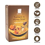 SABUNNGA Turmeric & Honey Natural Herbal Soap, Diminish Dark Spots |Whitening with Turmeric.Skin Lightening Soap ,Pack Of 1,Size 3.52 OZ