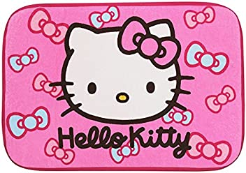 Hello Kitty Carpet Doormat Villus Floor Mat Rug Pink Ribbon Sanrio