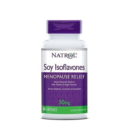 Las isoflavonas de soja, 60 Cápsulas - Natrol