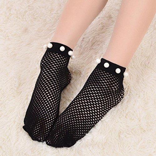 Women Fishnet Socks, Inkach Children Fishnet Stockings Fashion Kids Soft Socks B