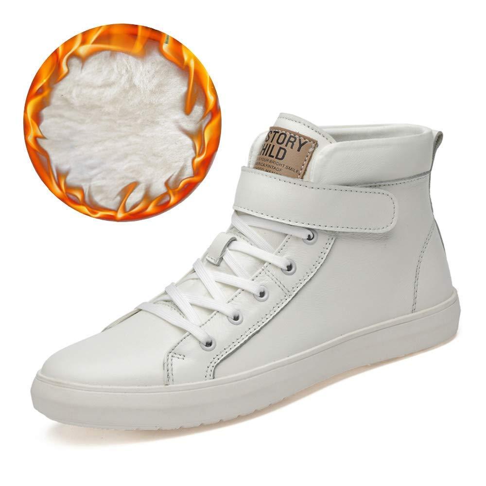 Oudan Shu, Sneaker pour Hommes, Blanc - Blanc Chaud - Taille: 38 (coloré : comme montré, Taille : Taille Unique)