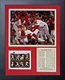 "Legends Never Die ""2008 Philadelphia Phillies World Series Champions"" Framed Photo Collage, 11 x 14-Inch"