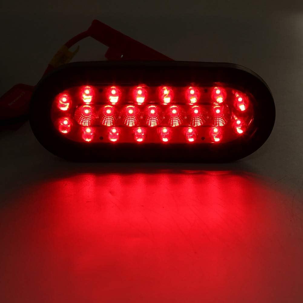 EBTOOLS Feu Arri/ère de Voiture 12V 23 LED de Feu de Position Oblique Feux Arri/ère pour Remorque Caravane de Camion
