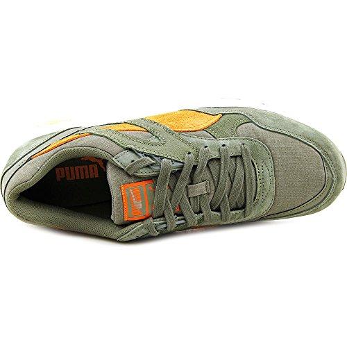 Puma Trinomic R698 Via Sneakers Burnt Olive/Russet Orange