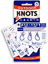 Pro-Knot Outdoor Knots - Portable Waterproof Knot Book