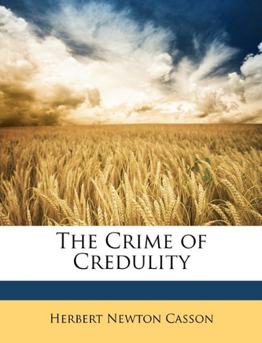 The Crime of Credulity pdf epub