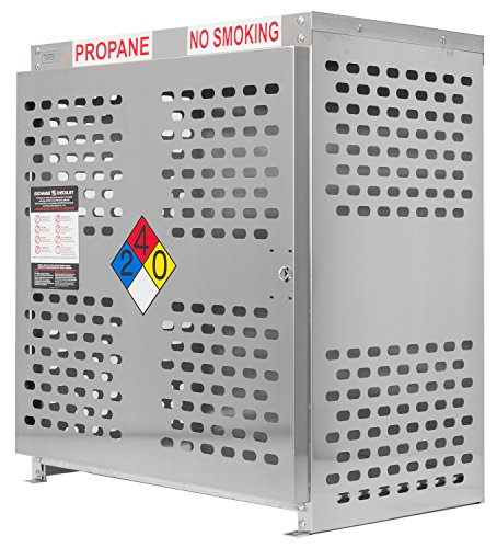 12 Cylinder 20lb Propane Exchange Cage ()