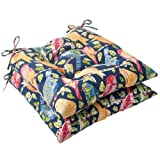 Pillow Perfect Indoor/Outdoor Ash Hill Tufted Seat Cushion, Navy, Set of 2 Review
