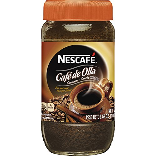 Nescafe Cafe De Olla Instant Coffee, Cinnamon, 6.7-Ounce Jars (Pack of 3)