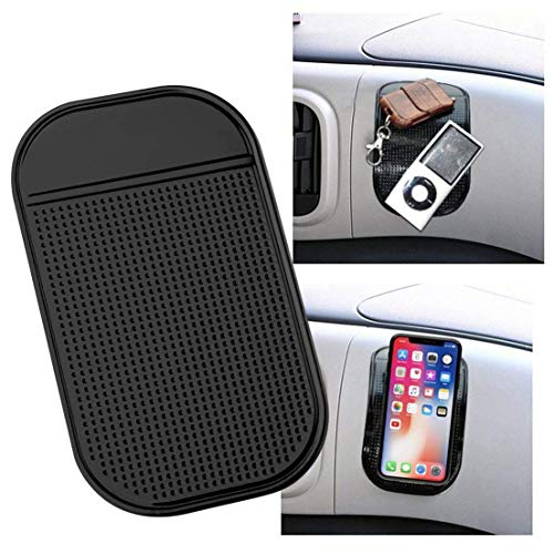 LOVEACH Magic Car Grip Pad Non Slip Sticky Car Dashboard Adhesive Cell Phone Mount Anti Slide Holder Mat for Miscellaneous Equipment